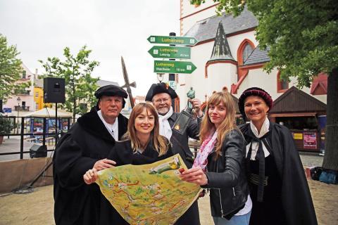 Lutherweg in Sachsen wurde am 27. Mai in Döbeln eröffnet