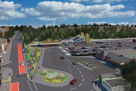 Open Day at Kidderminster reveals how the new station will look.