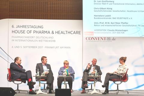 Big Data und Arzneimittelsicherheit: AbbVie diskutiert mit