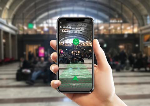 Hitta rätt med SJs nya digitala vägvisare