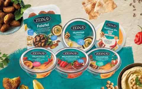 Zeinas lanserar egna produkter med spännande smaker från Mellanöstern!