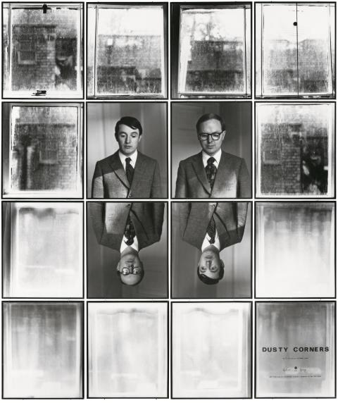 Gilbert & George,  DUSTY CORNERS 13, 1975