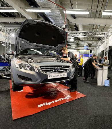Motorbranschen förbereder sig för digitaliseringen