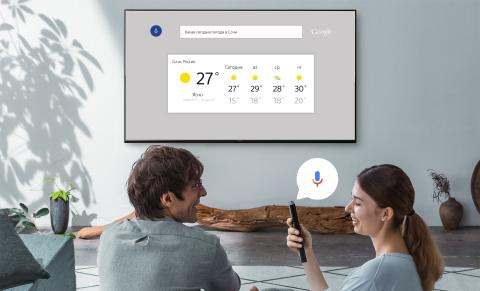 Android TV 6.0 Marshmallow search weather