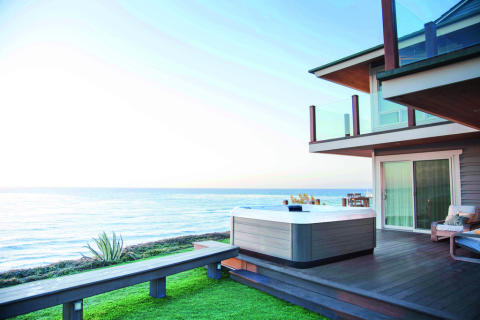 Unique spa experiences with hot tubs from Villeroy & Boch