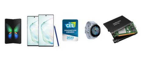 Samsung vinder 46 CES 2020 innovationspriser for enestående design og teknologi