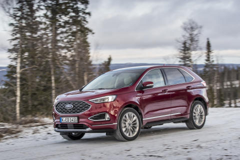 Ny Ford Edge – stilfuld og sporty SUV