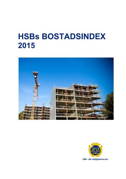 HSBs Bostadsindex 2015