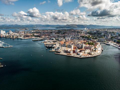 5G-utbyggingen i Stavanger er godt i gang