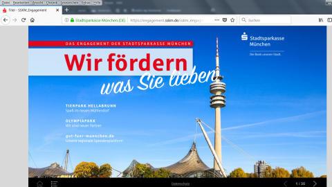 Cover Online-Magazin-Wir fördern, was Sie lieben