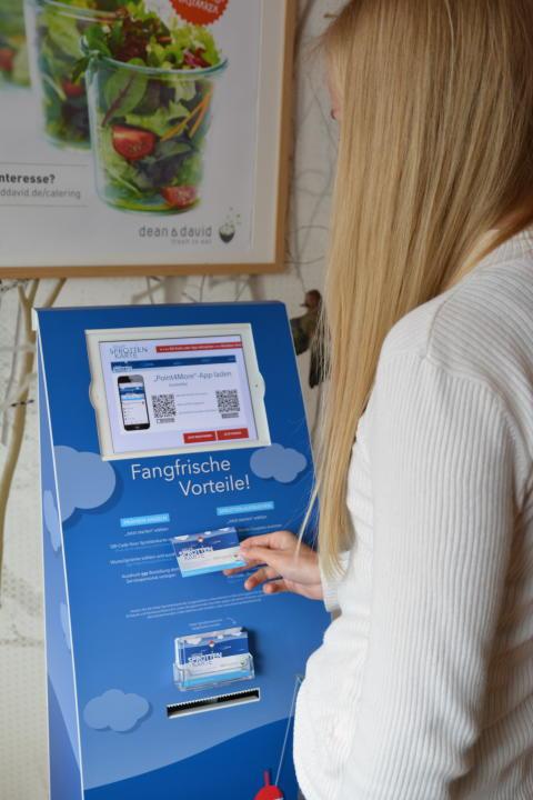 Digitaler Service-Point bei den Gastronomen