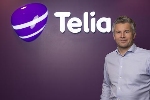 Ove-Mathias Lind, leder for Telia Privat.