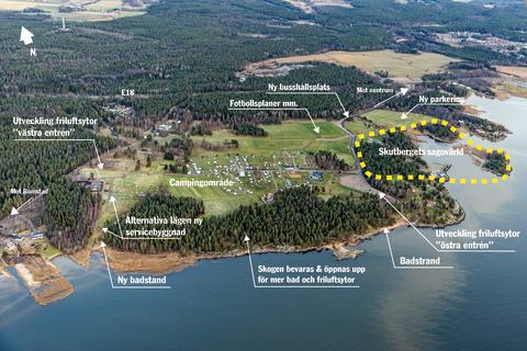 Detaljplan för Skutbergets sagovärld klar för överlämning till kommunfullmäktige