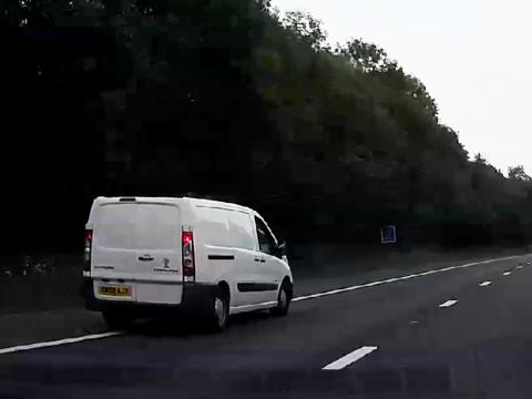 VIDEO: Drink-driver was more than three times the legal limit on the M23