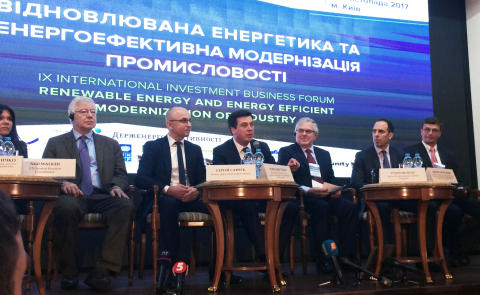 New green investment initiative in Ukraine