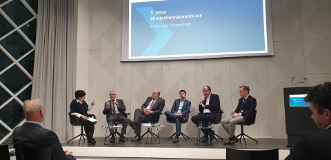 Belegantes Blog: 5 Jahre Mindestlohnkommission - Tarifautonomie und Tarifbindung müssen stark bleiben