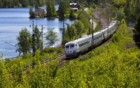 SJ lanserar nytt tågluffarkort för resor i Sverige