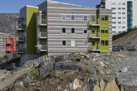 ROCKWOOLs fasadlösningar bäst för Grönlands hårda klimat