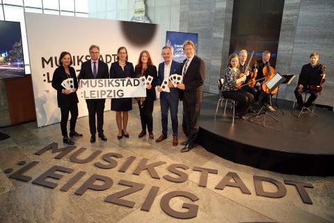 Gemeinsam für die Musikstadt Leipzig - Präsentation der Dachmarke