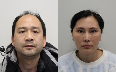 Couple jailed for sex trafficking offences