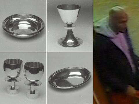 Renewed bid to trace high-value silverware stolen from the University of Sussex, Brighton
