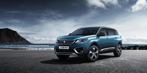 Premiär: Första bilderna på nya Peugeot 5008 SUV