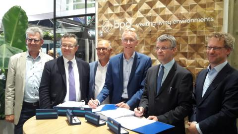 ZÜBLIN, ODE, signing
