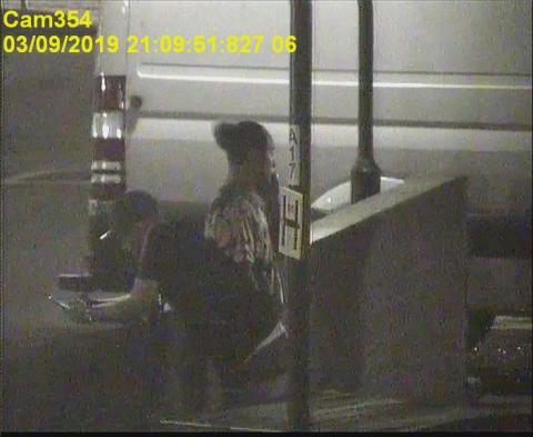 CCTV of Harkin and Akbari
