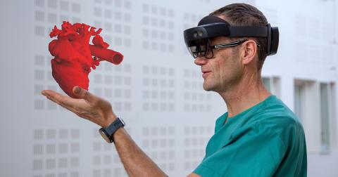 Medisinsk hologram-startup henter inn fersk kapital