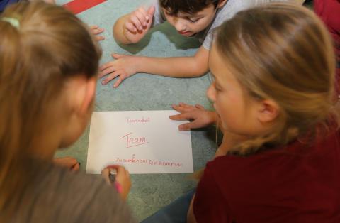 """""""Stark im Team"""" – Schüler der Grundschule Louisenlund erleben spannenden Workshop"""