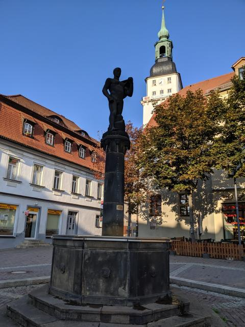 Skulpturenpfad Frankenberg/Sa.