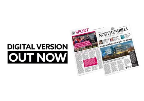Northumbria's Spring 2021 Newspaper has landed!