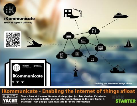 Digital Yacht iKommunicate update and METS 2015 new products