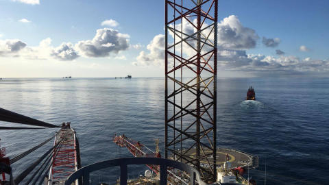 Praise to the 'Esvagt Server' during rig move