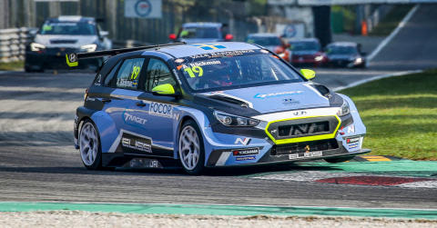 Andreas Bäckman fourth best in TCR Europe 2019