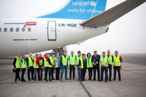 UNICEF og Norwegian i nyt dansk samarbejde