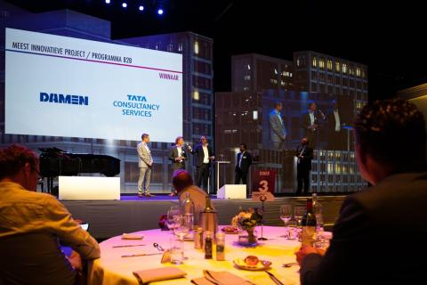 Damen Shipyards en TCS winnen CIO Magazine Innovation Award 2020
