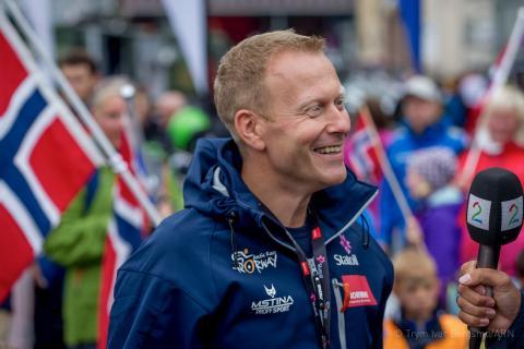 Sjefen for Arctic Race of Norway