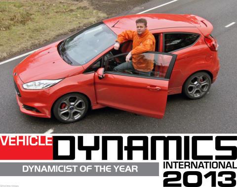 David Put, et sentralt medlem i teamet som som arbeider med å forsterke de dynamiske egenskapene på Fords Biler