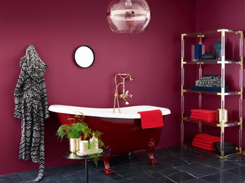 5 flotte farger til badet