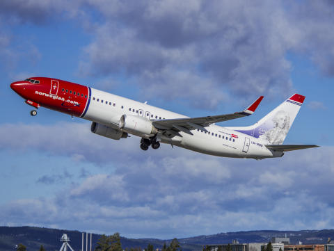 Norwegian's 737-800 aircraft