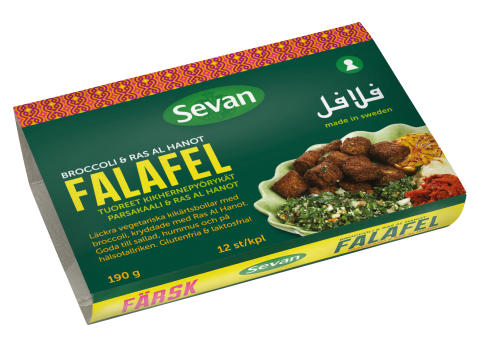 Falafel Broccoli & Ras al Hanot