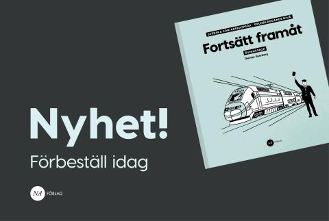 Ny övningsbok till svenska som andraspråk!