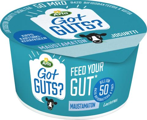 ARLA Got Guts? maustamaton jogurtti