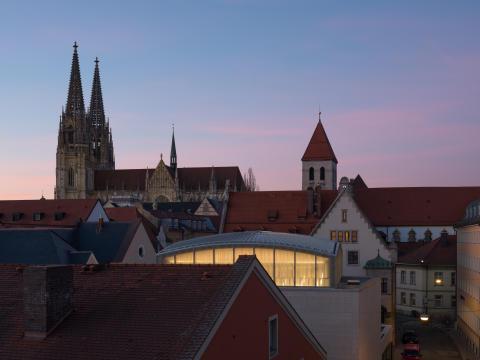 Award for ZÜBLIN Timber's Regensburg Synagogue project