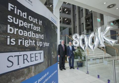 Digital Scotland Superfast Broadband reaches 800,000 premises