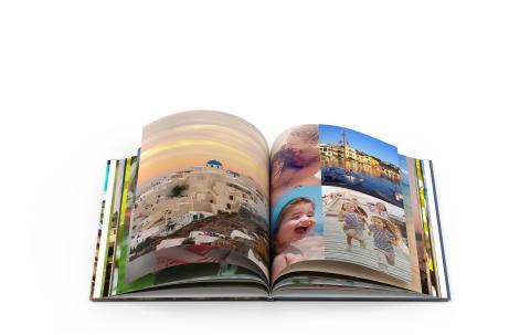 Deluxe-kuvakirja - matkat ovat suosikkiaihe kuvakirjaan