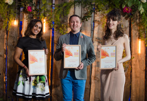 Channel 4 Writing for Television awards winners