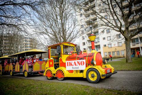 Städdagen i Hagsätra och Rågsved - Tåget