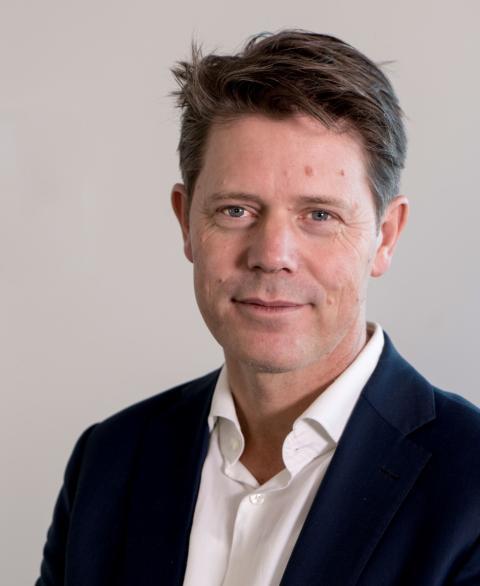 Bernt G. Apeland, generalsekretær i Norges Røde Kors